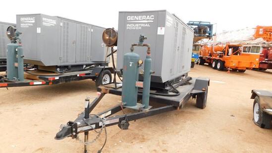 Located in YARD 1 - Midland, TX (2939) 2013 GENERAC INDUSTRIAL POWER 130 KW INDU