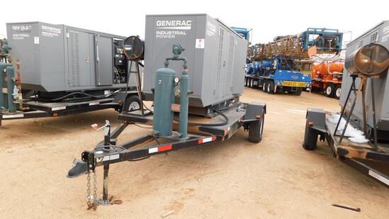 Located in YARD 1 - Midland, TX (2940) 2013 GENERAC INDUSTRIAL POWER 130 KW INDU