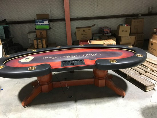 Located in YARD 1 - Midland, TX (1) BLACK JACK TABLE & (2) POKER TABLE