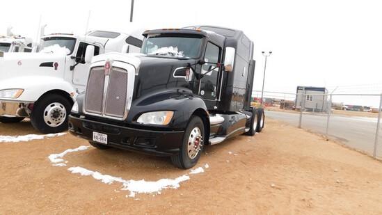 Located in YARD 1 - Midland, TX (6317) (X) 2013 KENWORTH T660 T/A SLEEPER HAUL T