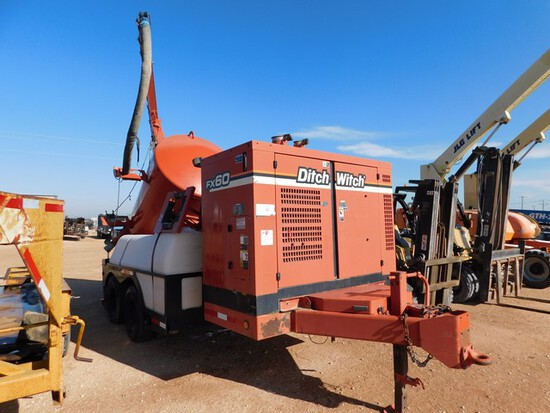 Located in YARD 1 - Midland, TX (2992) 2012 DITCH WITCH FX-60 HYDROVAC, VIN- 1DS