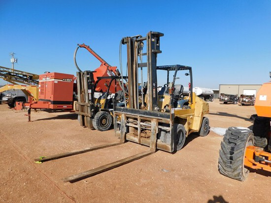 Located in YARD 1 - Midland, TX (6244) MITSUBISHI CATERPILLAR, MODEL DP70N FORKL