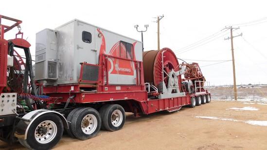 Located in YARD 1 - Midland, TX (X) 2007 NOV HYDRA RIG COILED TUBING UNIT, ASSY