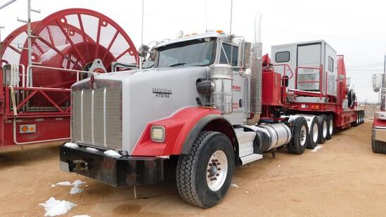 Located in YARD 1 - Midland, TX (X) (HT8704) 2012 KENWORTH T800 5 AXLE CTU TRACT