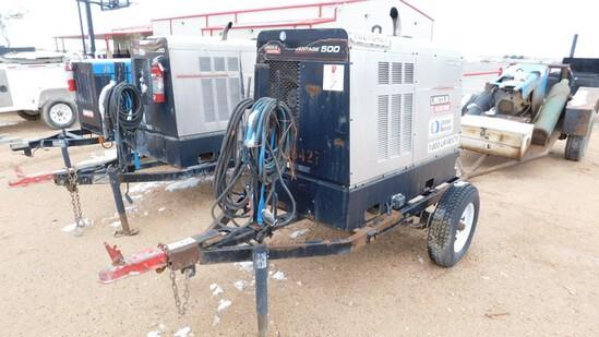 Located in YARD 1 - Midland, TX LINCOLN ELECTRIC VANTAGE 500 DIESEL WELDING MACH