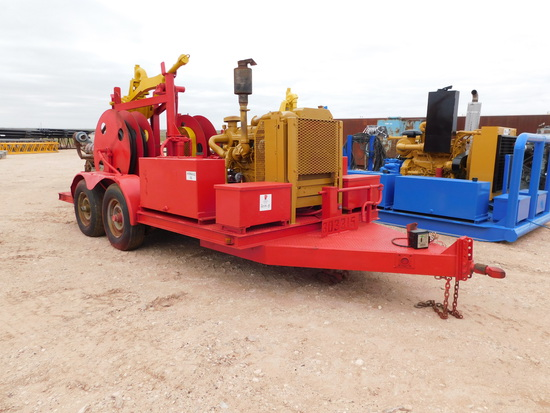BOWEN 52-5 POWER SWIVEL P/B CAT DIESEL ENGINE Located in YARD1 Midland, TX