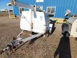 (5440) CAT ALLMOND 6 KW LIGHT TOWER, P/B 2 CYL DIESEL ENGINE, ELECTRIC WINCH, MT