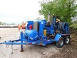 (WE7343) BOWEN 2.5 TRL MTD POWER SWIVEL, P/B 4-71 DETROIT DIESEL ENGINE, HYD PUM