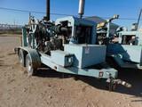 (003) BOWEN 2.5 POWER SWIVEL P/B PERKINS 4 CYL TURBO DIESEL ENGINE, HYD PUMP, (2