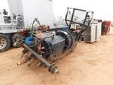 WESTERN ROUGH RIDER 500 TRIPLEX PUMP RIGGED F/ TRUCK MTD, W/ HYD. CENT PUMP (746
