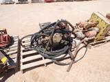 (7169) FMC BEAN TRIPLEX PUMP W/ HYD MOTOR  Located in YARD1 - Midland, TX