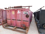 (WE 7090) 32X8X5 CRIMPED STEEL 2 COMP REVERSE PIT Located in YARD8 Woodward, OK