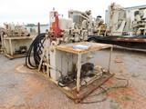 (A-904) 3 STATION CLOSING UNIT (4) BOTTLES, P/B GAS ENGINE, SKIDDED (WB7074) Loc