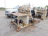 (A-903) 3 STATION CLOSING UNIT (4) BOTTLES, P/B GAS ENGINE, SKIDDED (WB7073) Loc