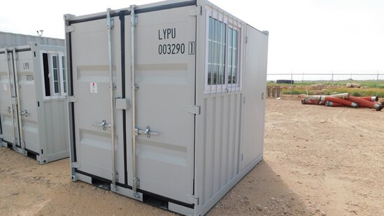Located in YARD 1 Midland, TX - Shawn Johnson 432-269-0225 8' SEA CONTAINER