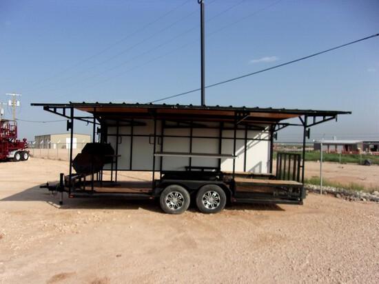 Located in YARD 1 Midland, TX - Shawn Johnson 432-269-0225 (X) 18' X 8.5' BBQ TR
