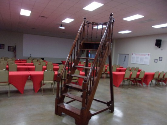 Located in YARD 1 Midland, TX - Shawn Johnson 432-269-0225 (0973) ANTIQUE LIBRAR