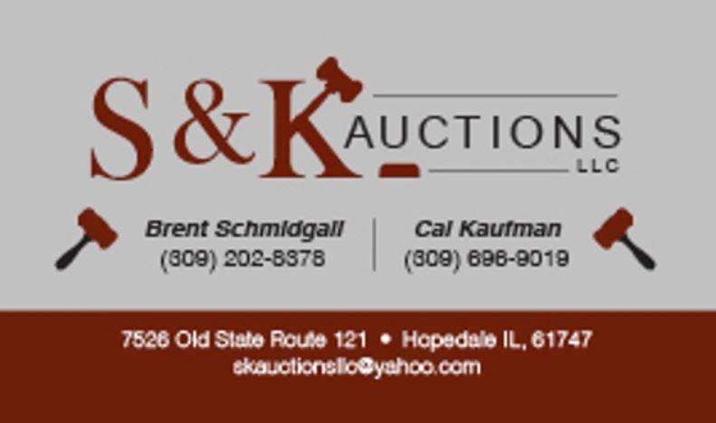 S & K AUCTIONS, LLC