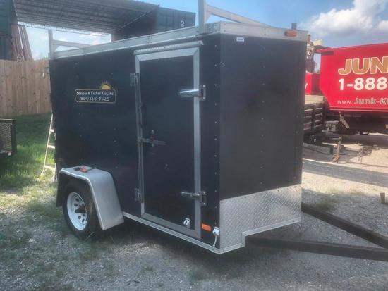 Enclosed Trailer- Vin# 4U01008172ad34776