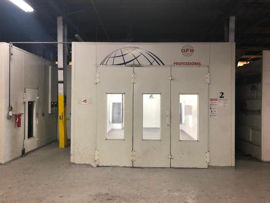 High Quality GFS Professional Paint Booth