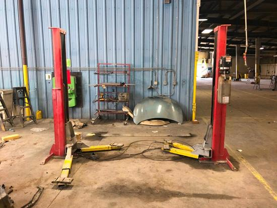 2-Post Asymmetrical Car Lift