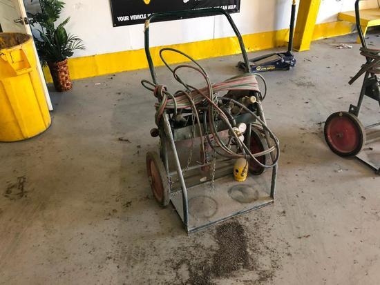 Harper MIG Welder Cart