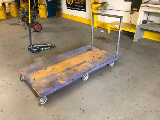 6 Wheel Push Cart