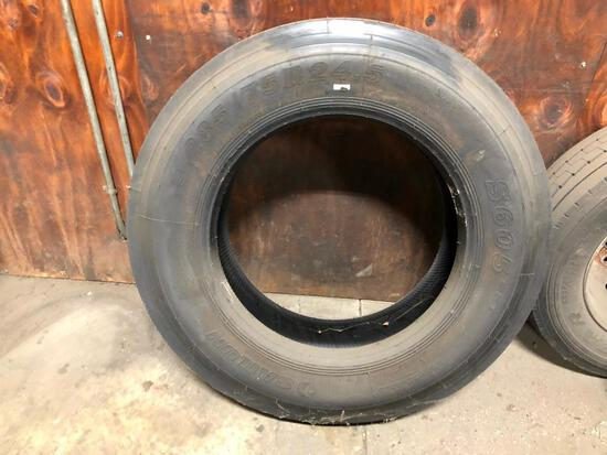 285/75R24.5 UNMOUNTED TIRE