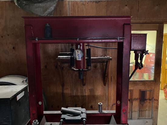 50 ton Heavy Duty Phneumatic Shop Press