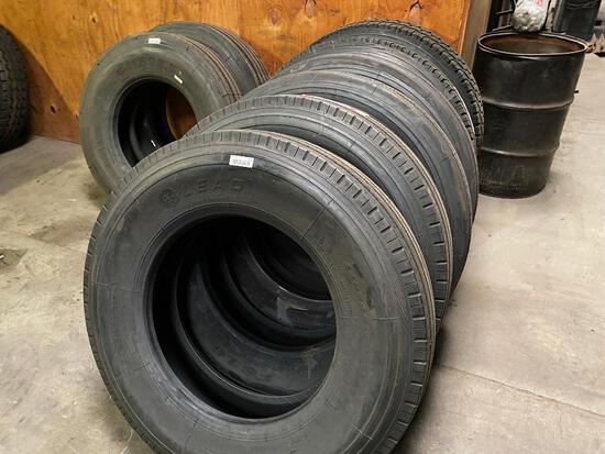 11r24.5 unmounted tires