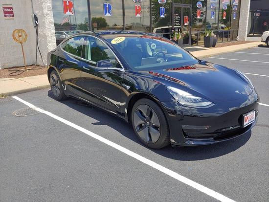 2019 Tesla Model 3 Passenger Car, VIN # 5YJ3E1EA0KF362016
