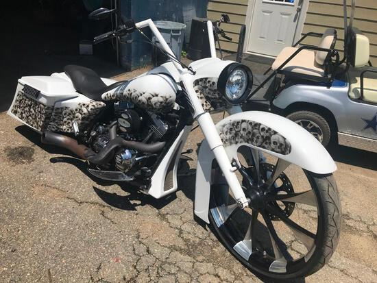 2006 Harley-Davidson FLHRI Motorcycle, VIN # 1HD1FBW186Y684013