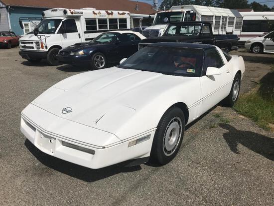 1985 Chevrolet Corvette Passenger Car, VIN # 1G1YY0789F5111691