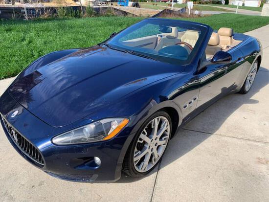 2010 Maserati GranTurismo Passenger Car, VIN # ZAM45KMA9A0052676