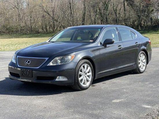 *PULLED* 2008 Lexus LS 460 Passenger Car, VIN # JTHBL46F185077587