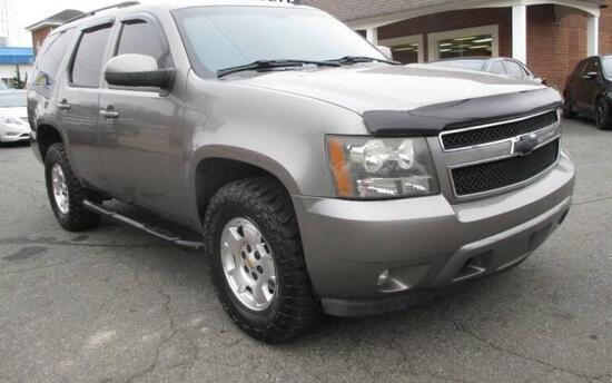 2008 Chevrolet Tahoe Multipurpose Vehicle (MPV), VIN # 1GNFC13058R150283