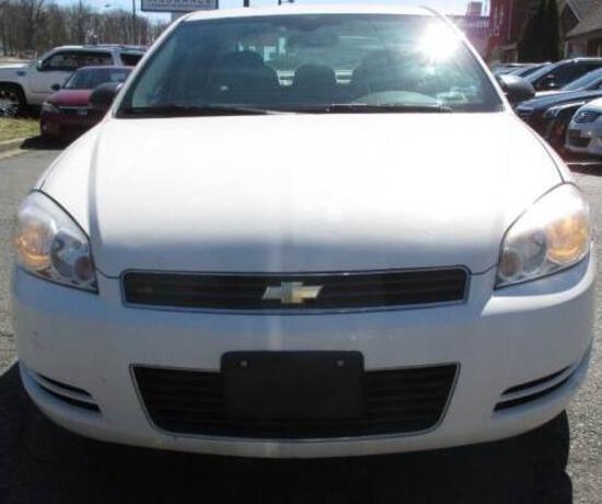2007 Chevrolet Impala Passenger Car, VIN # 2G1WB58K379260053