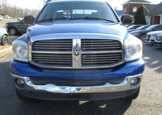 2007 Dodge Ram Pickup Pickup Truck, VIN # 1D7HU18257J594968
