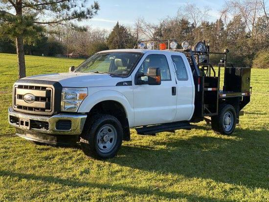 *PULLED* 2011 Ford F-350 Pickup Truck, VIN # 1FT7X3B66BEB77610