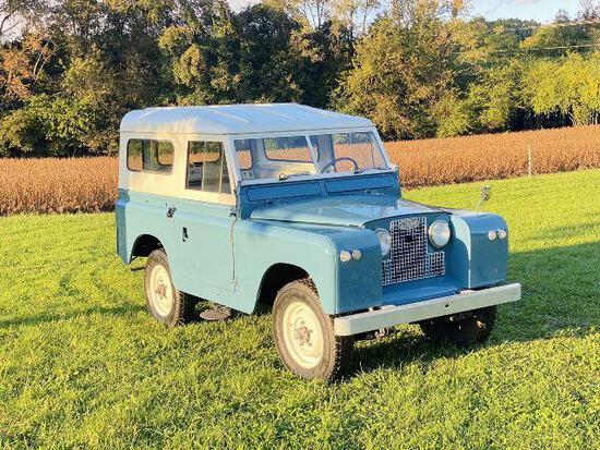 *PULLED* 1964 Land Rover Series II, Vin 24412747B