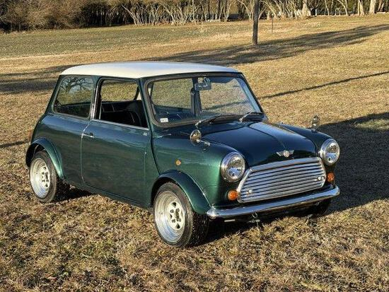 *PULLED* 1993 Mini Cooper (Steering Wheel on the Right Side) - VIN # SAXXNNAYCBD077121