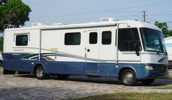 2000 Ford F53 Recreational Vehicle, VIN # 3FCNF53S9YJA03620