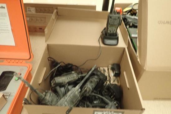Lot of 6 Kenwood 2-way Radios.