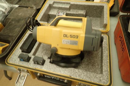 TopCon DL-503 Electronic Digital Level.