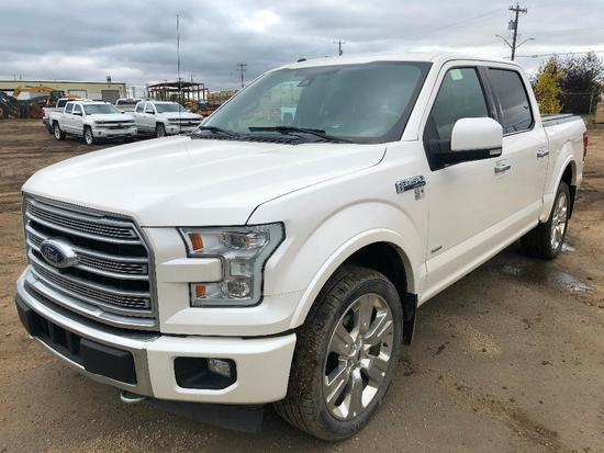2017 Ford F-150 Limited Crew Cab Pickup Truck