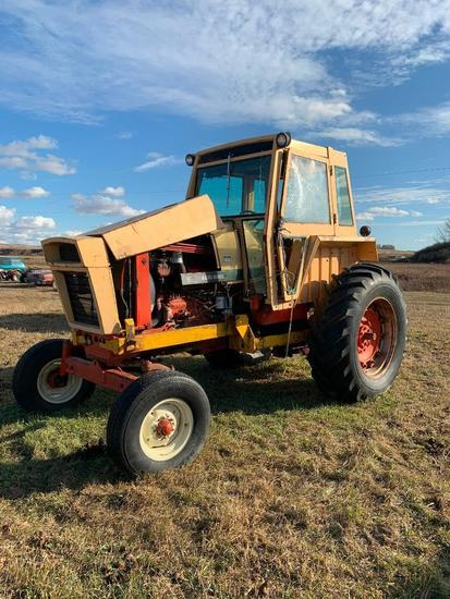 Case Agra King 970 2WD Tractor. **NOT RUNNING**