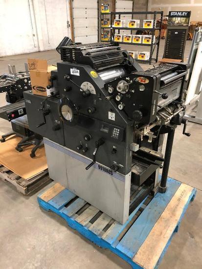 ABDICK 9910XCS Two-Color Printing Press