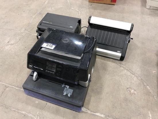 GBC Magnapunch 2.0, GBC Modular Series TL 2900 Binder Press, GBC Modular Series CC2700 Binder