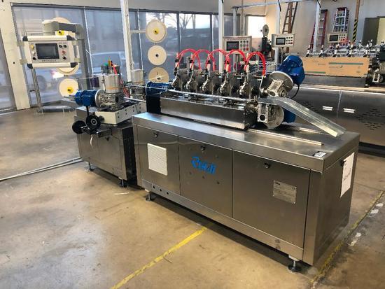 """Ruihai Machinery """"RHXG"""" Paper Straw Making Machine"""