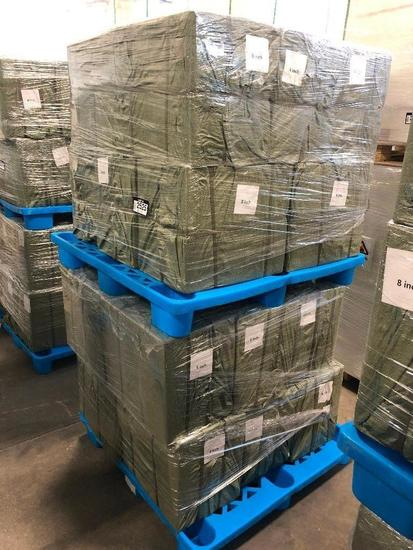 """Lot of (2) Pallets of 8"""" Paper Straw Boxes"""